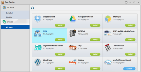 NAS: App Center – Zyxel Support Campus USA